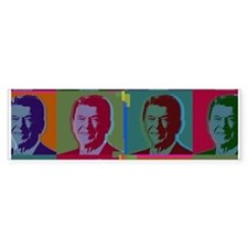 Ronald Reagan Bumper Car Sticker