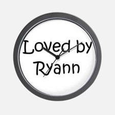 Cute Ryann Wall Clock