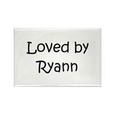 Cute Ryann Rectangle Magnet