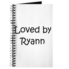 Cute Ryann Journal