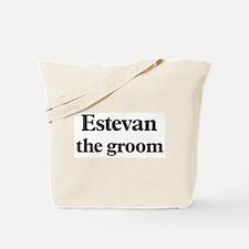 Estevan the groom Tote Bag