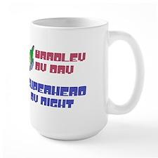 Bradley - Super Hero by Night Mug