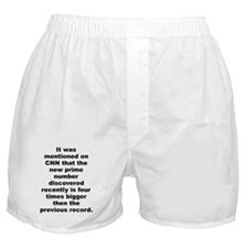 Funny Jesus was a liberal jew Boxer Shorts