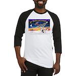 XmasSunrise/ 2 OES Baseball Jersey