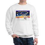 XmasSunrise/ 2 OES Sweatshirt