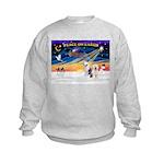 XmasSunrise/ 2 OES Kids Sweatshirt
