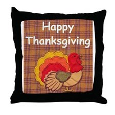 turkey Throw Pillow