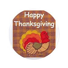"""turkey 3.5"""" Button (100 pack)"""