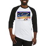 XmasSunrise/2 Silky Ter Baseball Jersey