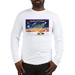 XmasSunrise/2 Silky Ter Long Sleeve T-Shirt