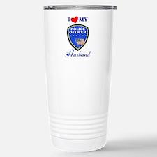Love My Police Husband Travel Mug