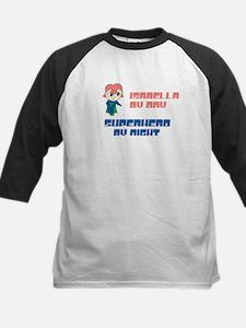 Isabella - Super Hero by Nigh Kids Baseball Jersey