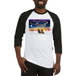 XmasSunrise/2 Dachshunds Baseball Jersey