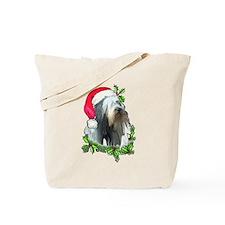 Santa Beardie Tote Bag