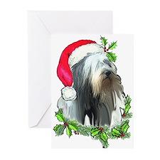 Santa Beardie Greeting Cards (Pk of 20)