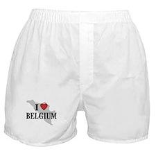 I Love Belgium Boxer Shorts