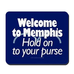 Welcome to Memphis Mousepad