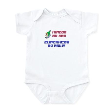 Mason - Super Hero by Night Infant Bodysuit