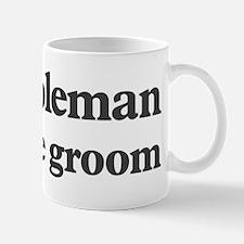 Coleman the groom Mug