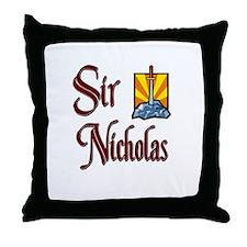 Sir Nicholas Throw Pillow