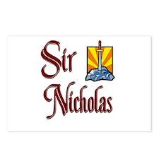 Sir Nicholas Postcards (Package of 8)