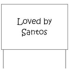 Cute Santos Yard Sign