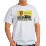 Bible Thumpometer - Hurricane Ash Grey T-Shirt