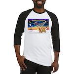 XmasSunrise/3 Goldens Baseball Jersey