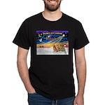 XmasSunrise/3 Goldens Dark T-Shirt