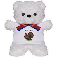 TURKEY TALK Teddy Bear