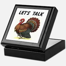 TURKEY TALK Keepsake Box
