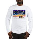 XmasSunrise/3 Cockers Long Sleeve T-Shirt