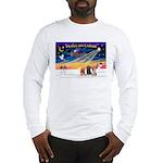XmasSunrise/3 Cairns Long Sleeve T-Shirt