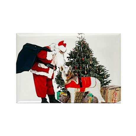 GSD Xmas Rectangle Magnet (10 pack)