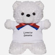 Cute Samatha Teddy Bear