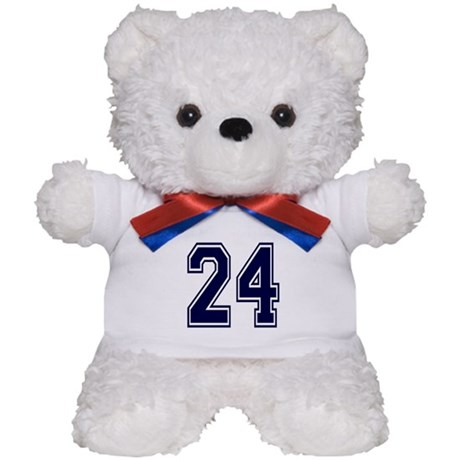 NUMBER 24 FRONT Teddy Bear