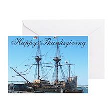 Thanksgiving Mayflower Greeting Card