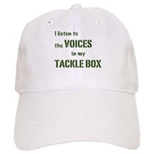 Voices in My Tackle Box Baseball Cap