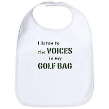 Voices in My Golf Bag Bib
