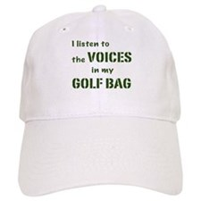 Voices in My Golf Bag Baseball Cap