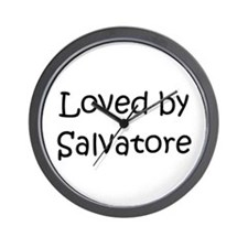 Cute Salvatore Wall Clock