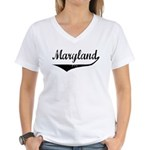 Maryland Women's V-Neck T-Shirt