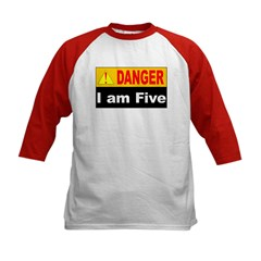 Danger! 5 year old at work Tee