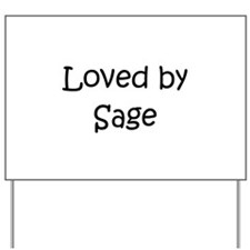 Cute Sage Yard Sign