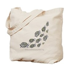 Cute Save turtles Tote Bag