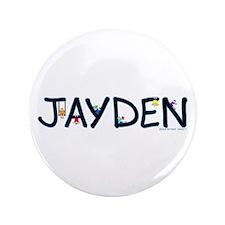 """Jayden (Boy) 3.5"""" Button"""