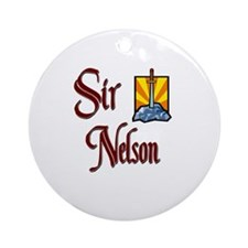 Sir Nelson Ornament (Round)