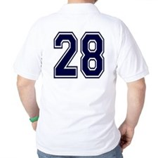 NUMBER 28 BACK T-Shirt