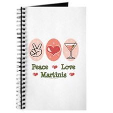 Peace Love Martini Journal