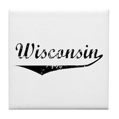 Wisconsin Tile Coaster